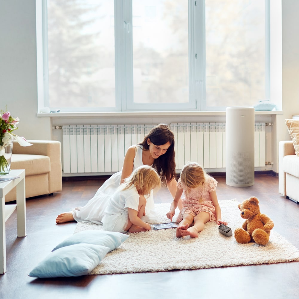 LIFA air purifier is safe around kids