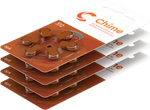 CHIME Hearing Aid Batteries 6 Pack - Size 312 - Free Postage on this Item