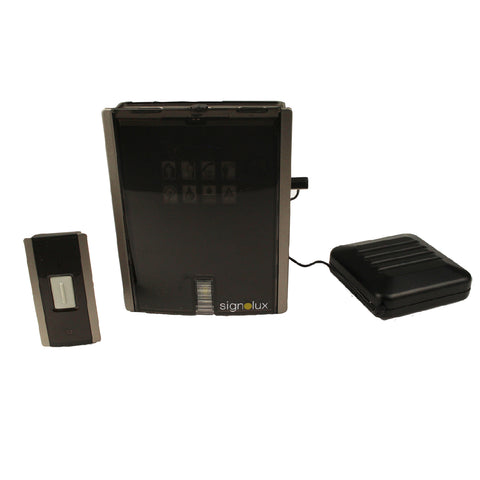 Signolux Doorbell System c/w Vibrating Pad