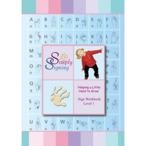 Helping a Little Hand to Grow - Work Book & CD - Level 1