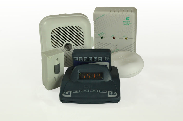 Silent Alert System Pack A - Home Safety Pack with Vibrating Pager