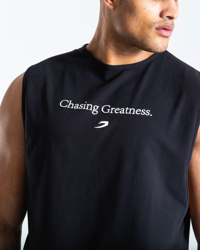 Chasing Greatness Muscle Tank - Black