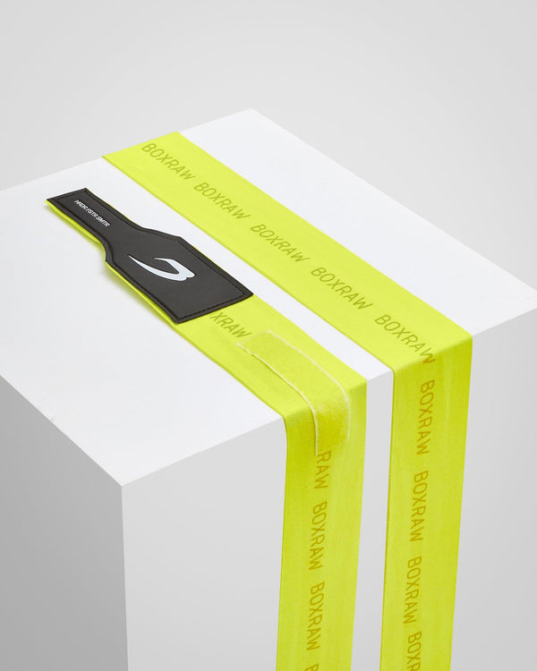 4.5M Hand Wraps - Neon Yellow - BOXRAW