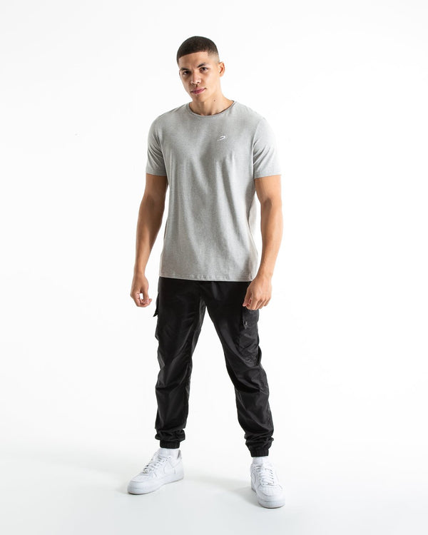 BOXRAW Strike T-Shirt - Grey Marl