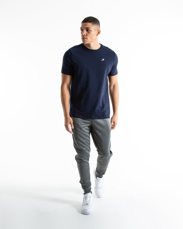 Strike T-Shirt - Navy - BOXRAW