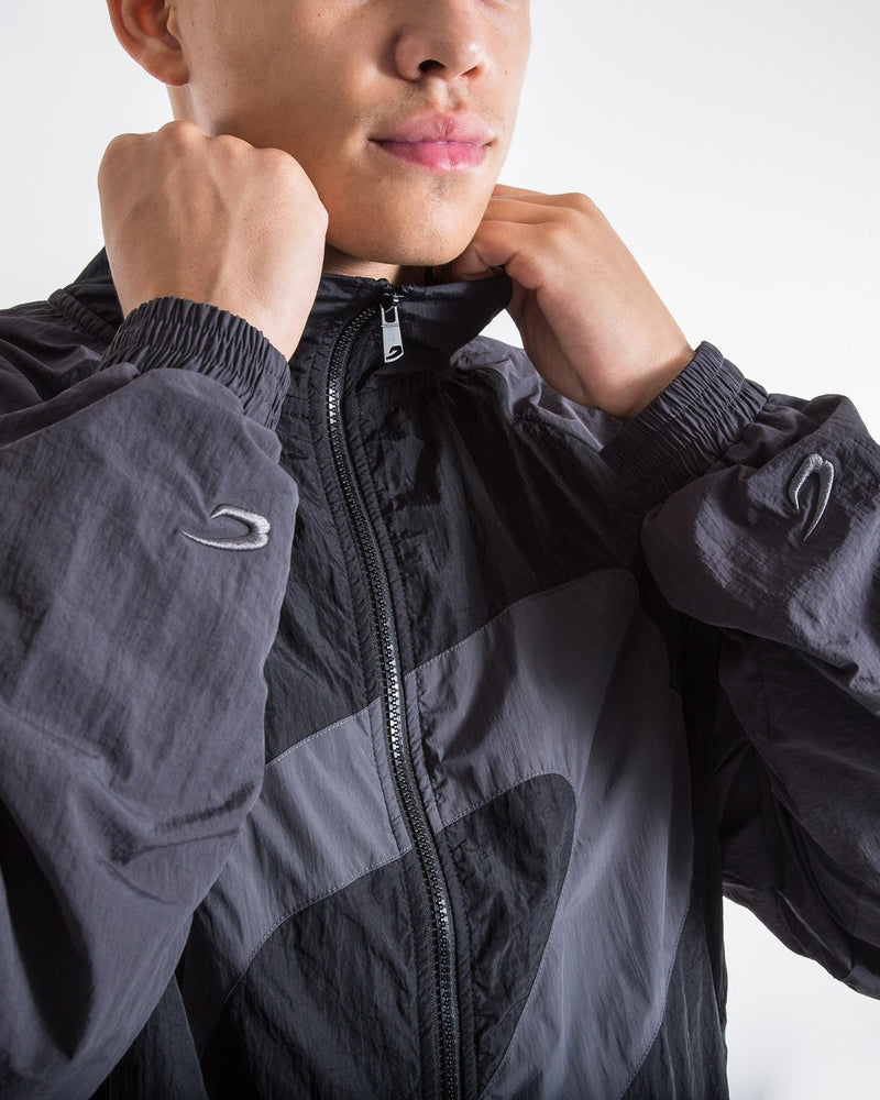 Walker Track Jacket - Triple Black - BOXRAW