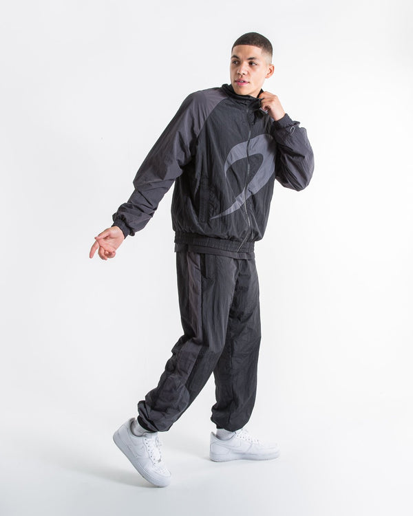 Walker Track Bottoms - Triple Black - BOXRAW