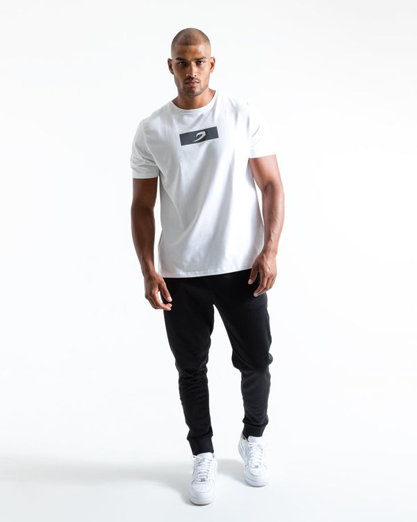 BOXRAW Reflective Strike T-Shirt - White