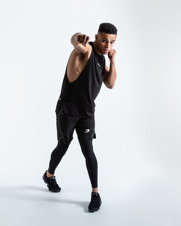BOXRAW SMRT-TEC Muscle Tank Black