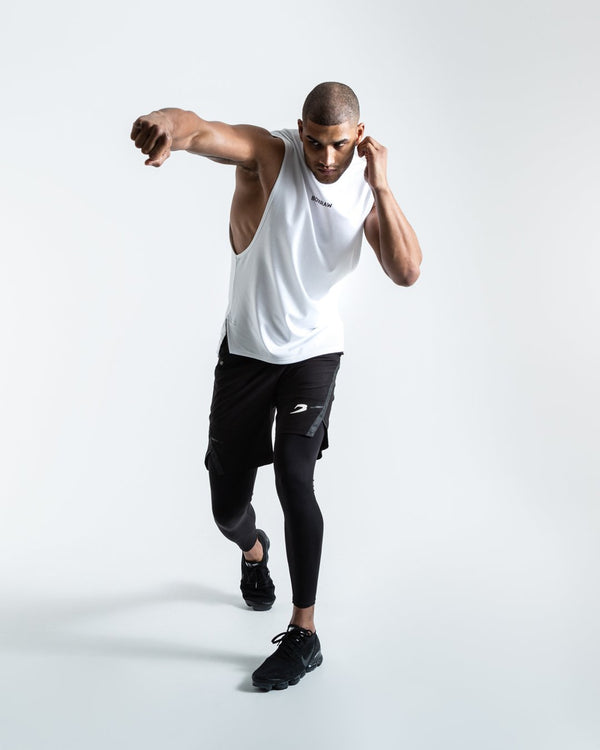 BOXRAW SMRT-TEC Muscle Tank White