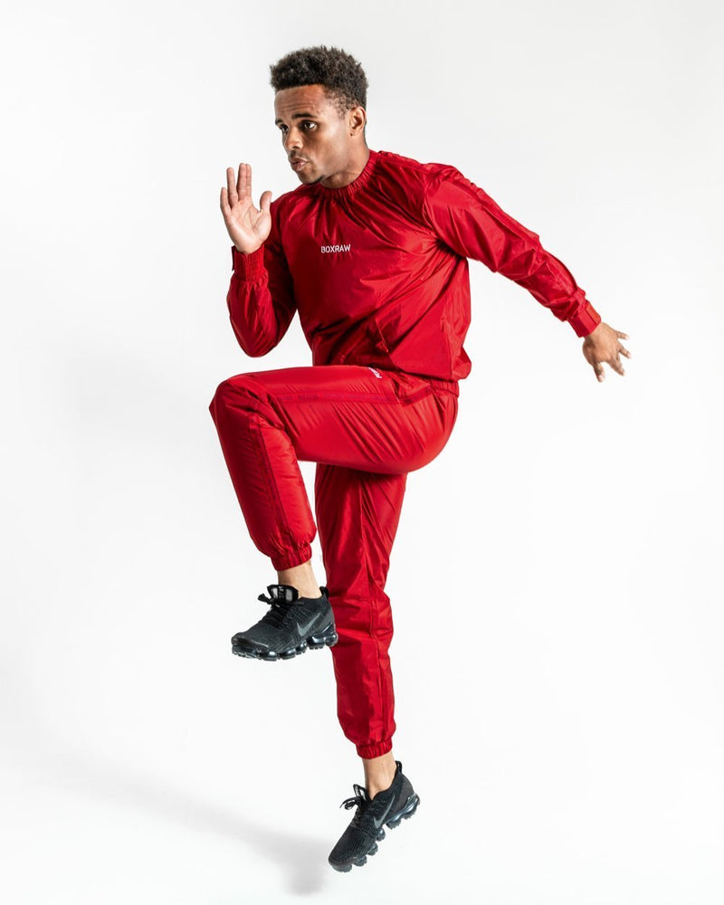 BOXRAW_Hagler_Sauna_Suit_Red
