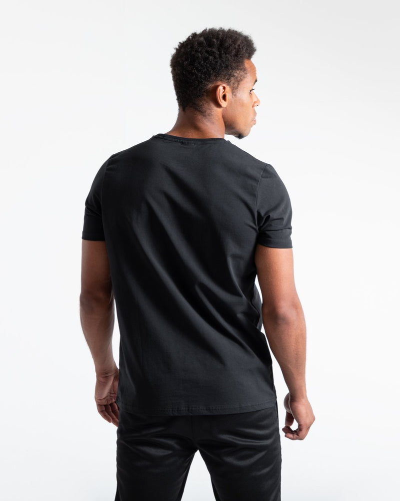 BOXRAW Stencil Strike T-Shirt - Black