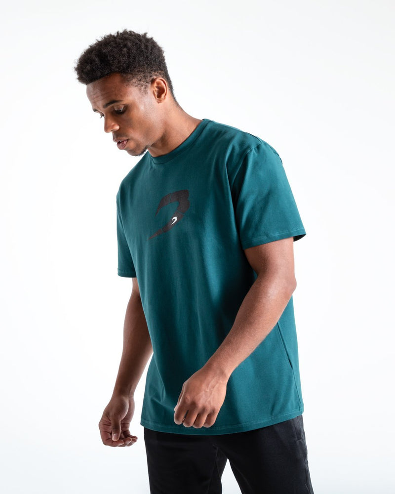 BOXRAW Glitch Strike T-Shirt - Green