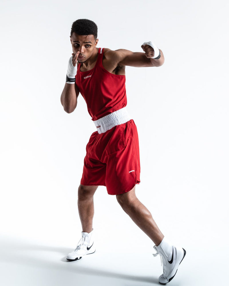BOXRAW - Stevenson Shorts - Red