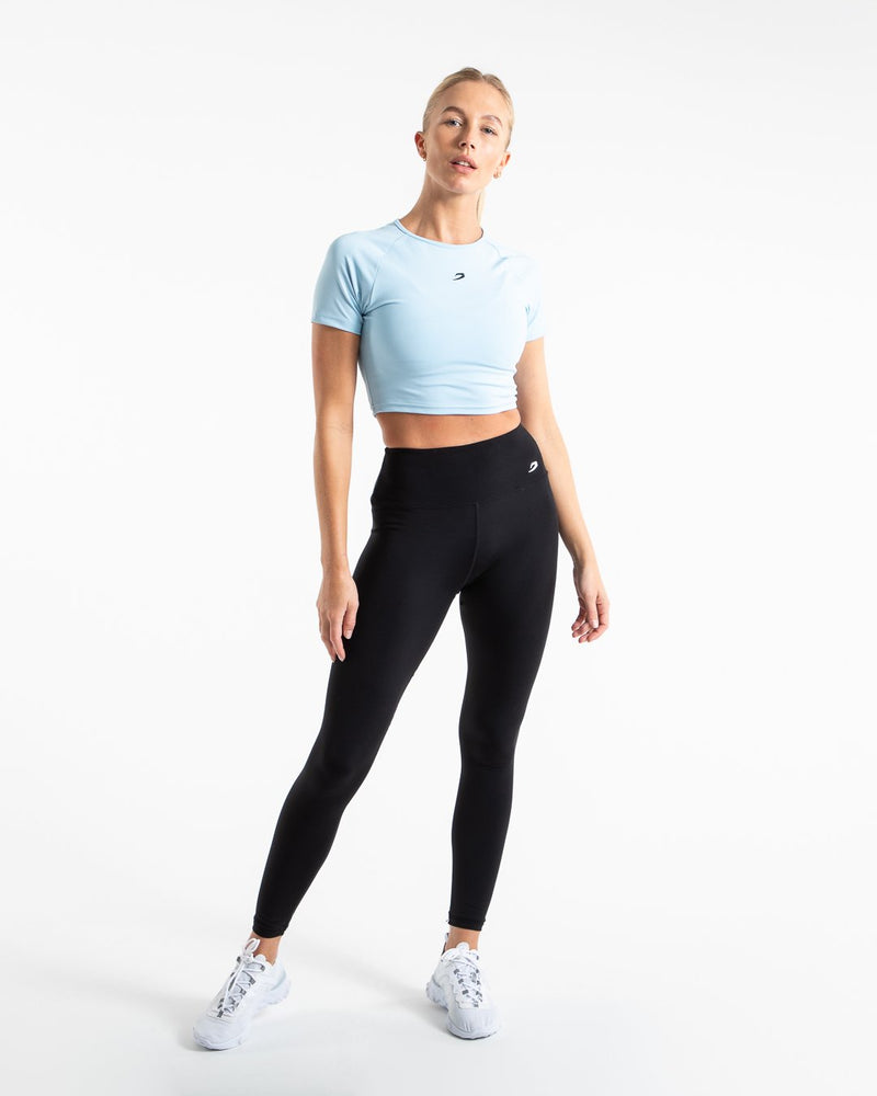 Crop Top - Baby Blue