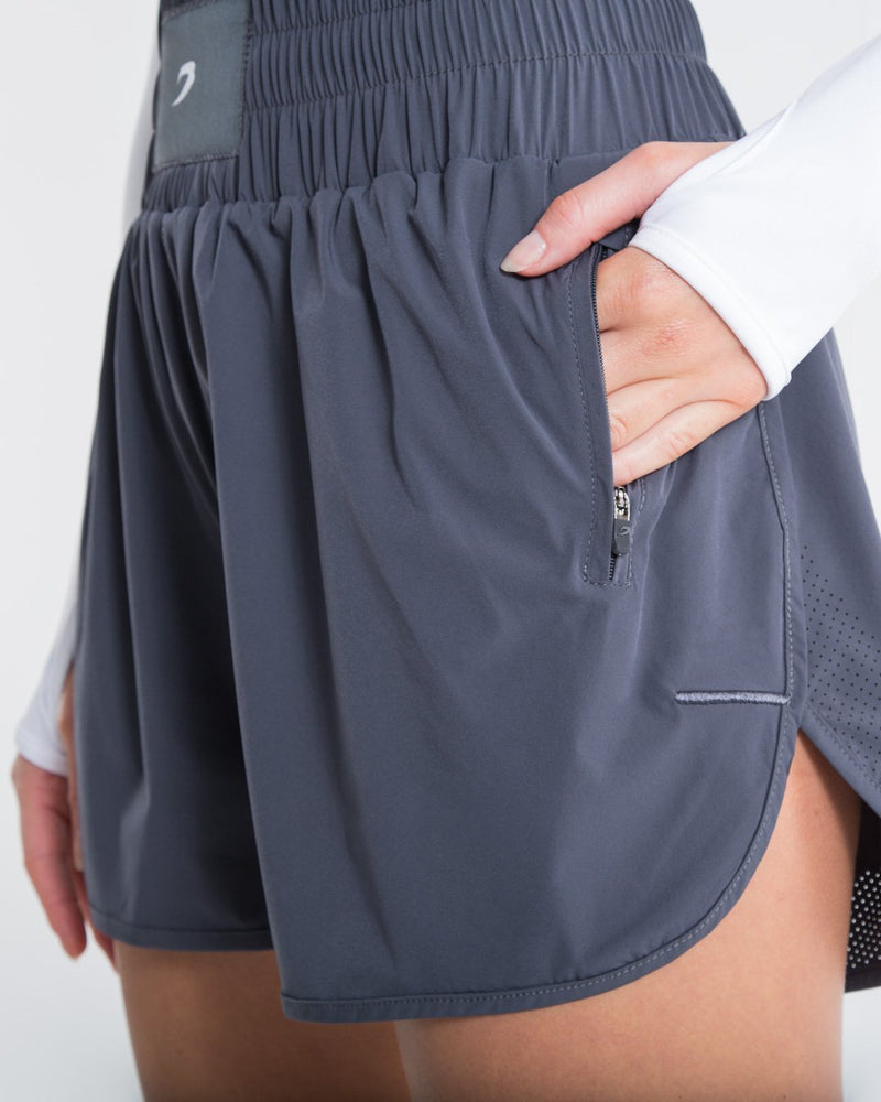 Kaliesha Shorts - Grey