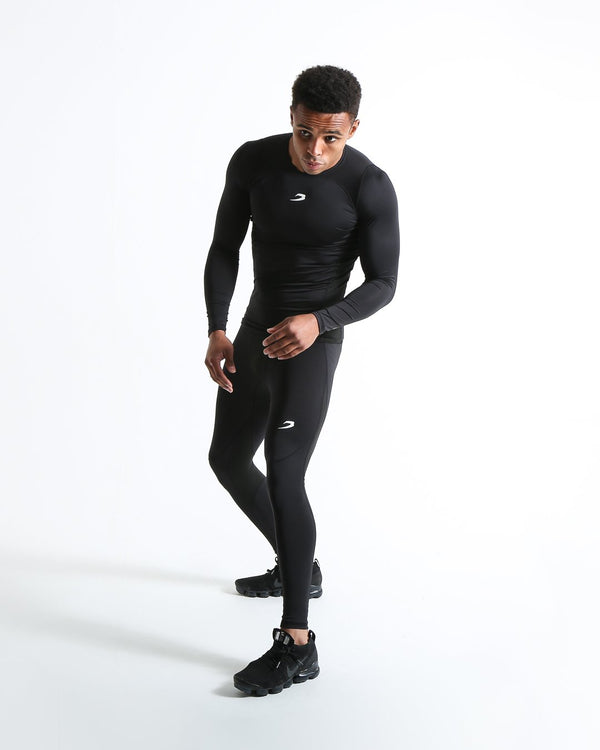 Saddler Compression Tights - Black