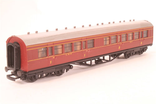12201 Replica 57' Composite No. 3621 in LMS Maroon