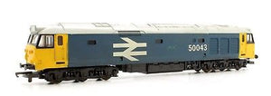 "205142 Lima Class 50 CoCo Diesel Electric 1984 Railfrieght Livery - Blue ""50043"" ""Eagle"""
