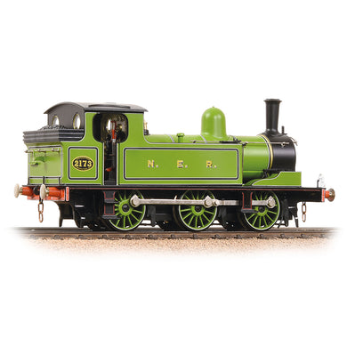 31-063 Bachmann E1 Class 2173 NER Lined Green - with fire box flicker