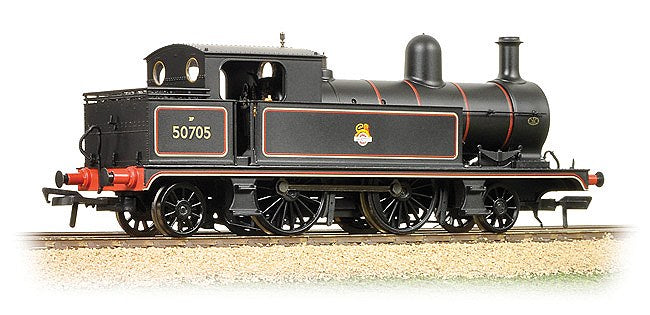 31-169 BACHMANN 64XX L&TR 2-4-2 Tank 50795 BR Lined Black early Emblem DCC Ready