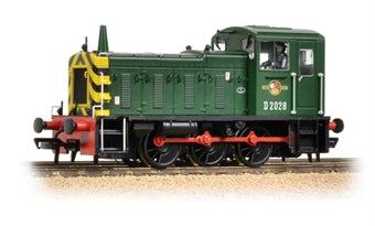 31-361B Bachmann Class 03 D2028 in BR green with wasp stripes and conical chimney
