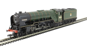 "31-531 Bachmann Class A2 4-6-2 60536 ""Trimbush"" in BR lined green early emblem DCC Ready. 21-pin socket"