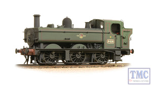 31-638 BACHMANN 64XX 0-6-0 Pannier Tank  No. 6419    BR Lined Green livery, Weathered.  DCC Ready