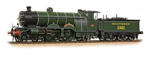"31-920 Bachmann Class H2 Atlantic 4-4-2 2421 ""South Foreland"" in SR olive green  DCC Ready. 21-pin socket"