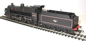 32-162 Bachmann  N Class 31401 BR Black L crest, slope sided tender,