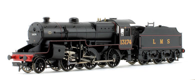 32-178A LMS Crab 2-6-0 No. 13174 LMS lined black, welded tender