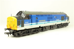 "32-381V Bachmann Class 37/4 37427 ""Highland Enterprise"" in Regional Railways livery with ScotRail branding DCC Ready. 21-pin socket"