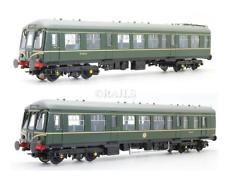 32-900A Bachmann Class 108 2 car DMU BR Green with speed whiskers