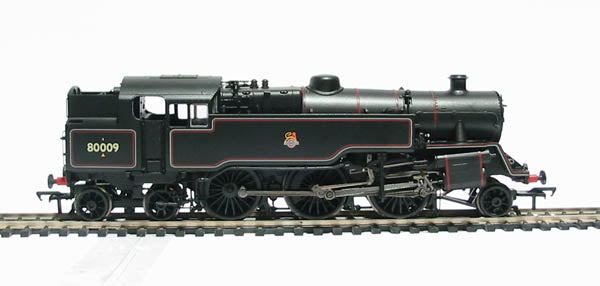 32-350DC Bachmann 4MT Standard Tank 80009 BR Black Livery. lined early emblem