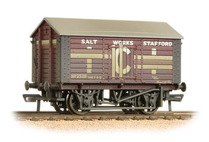 "33-186 10T BACHMANN Covered Salt Wagon "" ICI Salt""      Weathered"