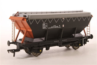 33-575 BACHMANN 46 Tonne CEA Covered Hopper Wagon 361841 in 'Loadhaul' Black & Orange Livery