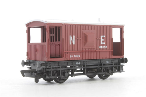 33-800 Branchline 16 Ton Brake Van Toad N.E. brown
