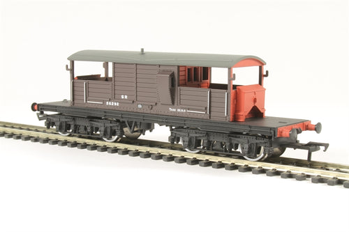 33-827C BACHMANN  Queen Mary Brake Van SR Brown