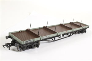 33-929B BACHMANN 30 ton bogie bolster wagon pipes are missing