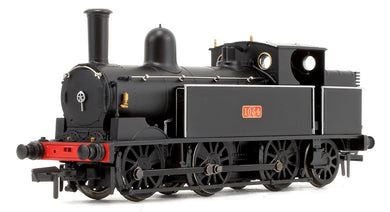 35-050 LNWR Webb Coal Tank 1054 LNWR Plain Black 1054