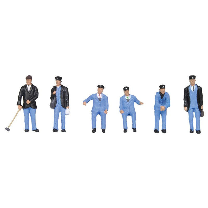 36-407 BACHMANN 1950s Train Crew