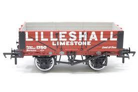 37-031 BACHMANN  5 plank wagon with steel floor in Lilleshall livery