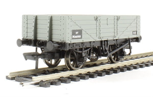 37-061C BACHMANN  5 Plank Wagon Wooden Floor BR Grey