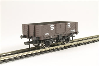 37-067 5 Plank Wagon Wooden Floor SR Grey