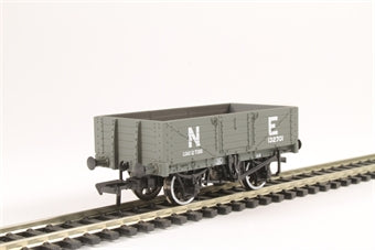 37-069 BACHMANN 5 Plank Wagon Wooden Floor NE Grey