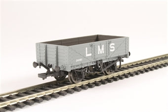 37-070 BACHMANN 5 Plank Wagon Wooden Floor LMS Grey