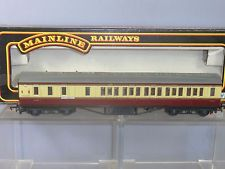 37-112 Mainline B.R ex-LMS 57' Stannier corridor Coach, Brake, Crimson and Cream
