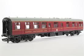 37-114 Mainline Buffet/Restaurant Car B.R. Maroon M1713