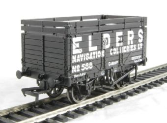 37-182A Bachmann 7 plank wagon with coke rail in Elders Navigation Collieries livery
