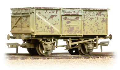 37-225H 16 Ton steel mineral wagon, BR grey (weathered)